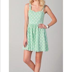 MINKPINK Peppermint Patty Dress NWT